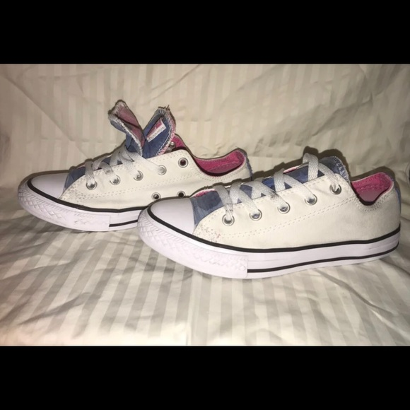 Double Tongue Converse Youth 3